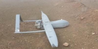 قوات الشرعية تسقط طائرة مسيرة للحوثيين في تعز