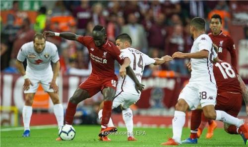 بالصور: ليفربول يختتم ودياته بالفوز على تورينو