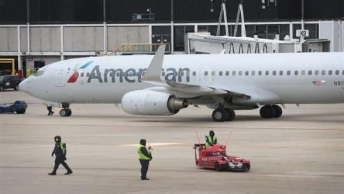 """جنين ميت في """"حمام"""" طائرة أمريكية"""