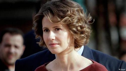 الرئاسة السورية تعلن إصابة زوجة  الأسد بسرطان الثدي