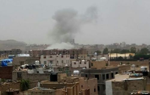 عاجل… انفجارت عنيفة تهز  صنعاء (تفاصيل+ صور)