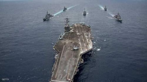 رسالة ردع أميركية إلى إيران بشأن مضيق هرمز