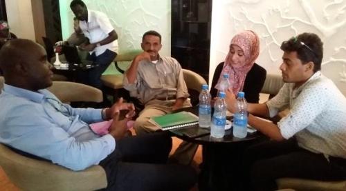 التحالف المدني الديمقراطي يلتقي بالمستشار السياسي للمبعوث الاممي الى اليمن