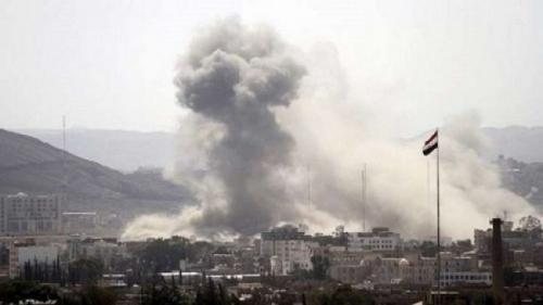 التحالف يقصف أهدافا للمليشيا في صنعاء