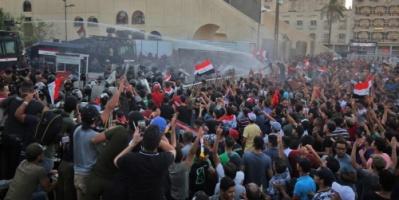 العراق.. تجدد التظاهرات ببغداد رغم انتهاء الفرز اليدوي