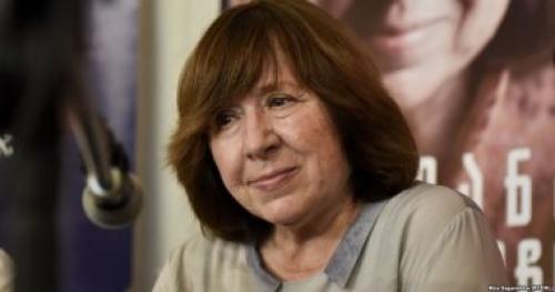 فائزة بجائزة نوبل تتلقى تهديدات تدفعها لإلغاء لقائها بالجمهور فى أوكرانيا