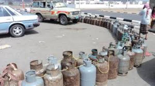 رفع عدد نقاط بيع الغاز المنزلي في صنعاء