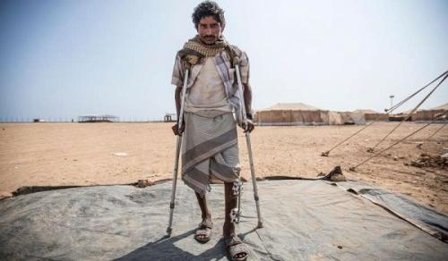 حروب الحوثي.. كارثة تخلّف 13% من اليمنيين لأوجاع الإعاقة