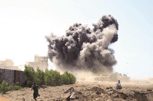 مقتل 17 من مليشيا الحوثي بغارات للتحالف في مأرب