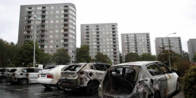 """""""عملية عسكرية مجهولة"""" تخرب مدنا سويدية"""