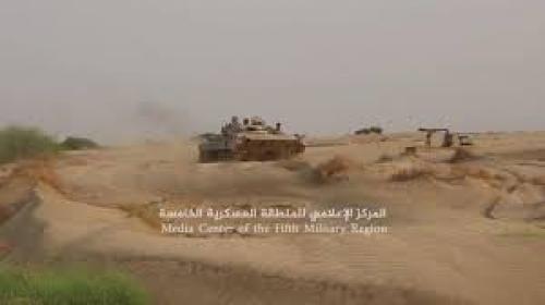 قوات الجيش تقترب من تحرير مركز مديرية حيران بحجة