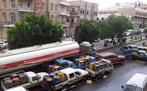 المليشيا السبب..  شبح أزمة الوقود يطارد صنعاء قبل عيد الأضحى