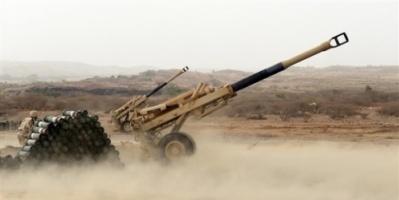 قوات الشرعية تقصف مواقع المليشيا بالمصلوب وصرواح