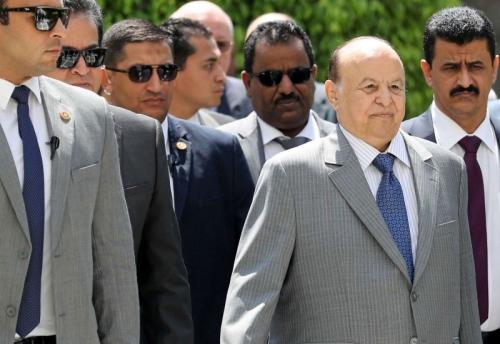 صحيفة دولية: إجماع على رفض تولي عبدربه منصور قيادة حزب المؤتمر الشعبي