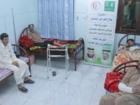 علاج «459» من الجرحى في أحد مستشفيات سيئون