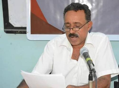 محمد ردمان في منتدى بن جازم الثقافي في فعالية عن النقد الأدبي