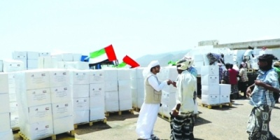 مساعدات إنسانية من الإمارات إلى ٤٠٠ أسرة في سقطرى