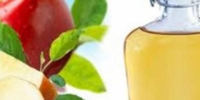فوائد خل التفاح على الريق منها شد الجسم