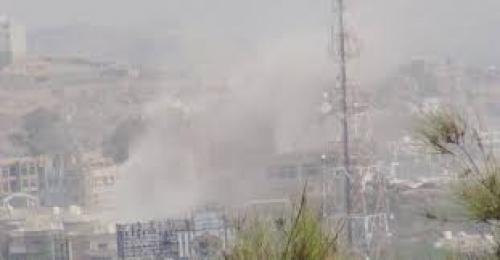 قصف عشوائي لميليشيا الحوثي على مناطق سكنية في البيضاء