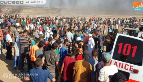 فلسطين.. استشهاد اثنين وإصابة 270 آخرين على حدود غزة