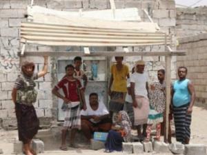 """بالصور.. عودة أهالي قرية """"المنظر"""" بالحديدة بعد تحريرها من الحوثيين"""