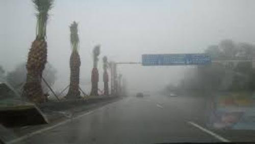 أمطار غزيرة مصحوبة بأصوات رعدية في إب