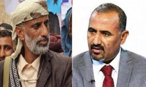 الزُبيدي يُعزي الشيخ علي السليماني في وفاة والده
