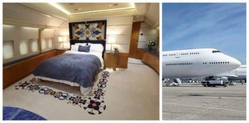 أمير قطر يعرض طائرته الباذخة للبيع (صور)