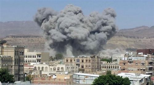 التحالف يقصف أهدافاً للميليشيا الحوثية في حجة وصعدة