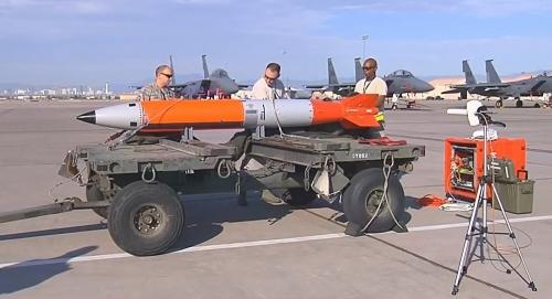 شاهد بالفيديو.. إسقاط أحدث قنبلة نووية