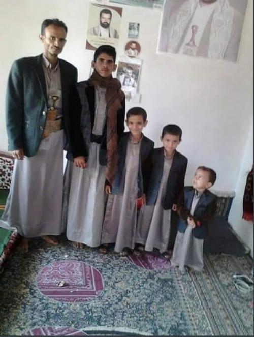 أسرة يمنية تتحول إلى ذكرى على الجدران بسبب جرائم الحوثي