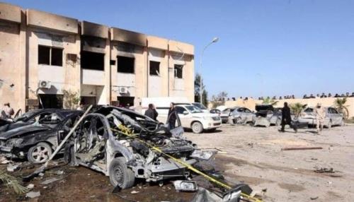 قتلى وجرحى في هجوم إرهابي غربي ليبيا
