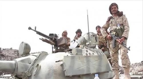 قوات الشرعية تحرر سلسلة جبلية في جبهة باقم بصعدة