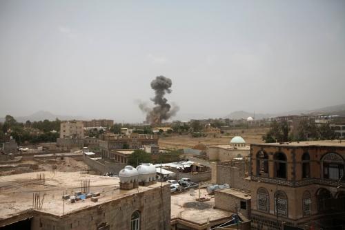 مقاتلات التحالف تقصف مواقع جديدة للحوثيين بصعدة