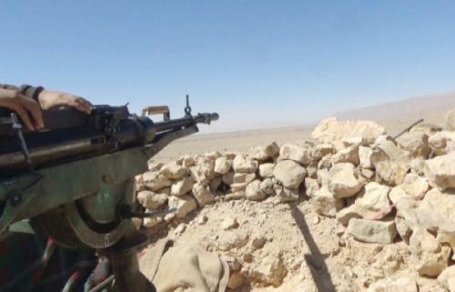 10 غارات لمقاتلات التحالف تستهدف الحوثيين في حجة
