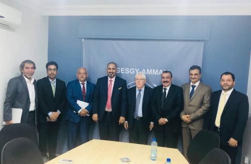 الرئيس الزبيدي يعقد لقاءً هاماً مع المبعوث الاممي في الاْردن