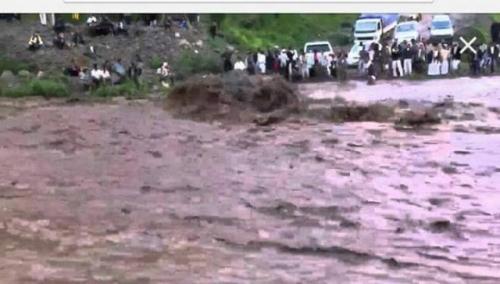 مصرع ثلاث سيدات غرقاً في سيول إب