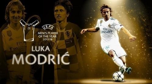 الكرواتي لوكا مودريتش أفضل لاعب بأوروبا للموسم الماضي