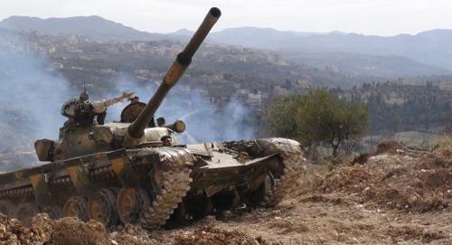 بالفيديو.. حيلة جديدة من المعارضة السورية استعداداً لمعركة أدلب