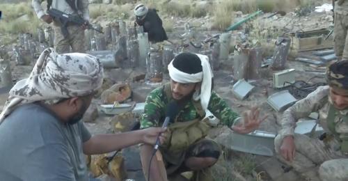 شاهد عملية تفكيك مقبرة ألغام الحوثي بصعدة