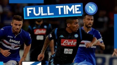 الدوري الإيطالي: نابولي يخسر بثلاثية أمام سامبدوريا