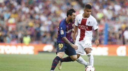 الدوري الإسباني: برشلونة يعاقب هويسكا بثمانية أهداف