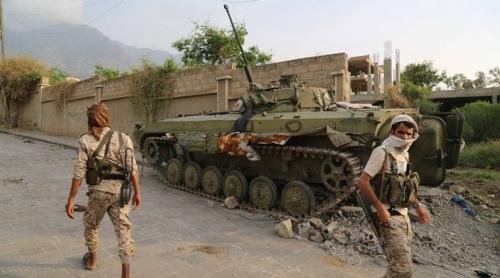 عودة الاشتباكات بين مسلحي الإصلاح وكتائب أبوالعباس في تعز