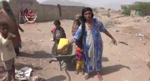 مليشيات الحوثي تمطر الأحياء السكنية في حيس بقذائف الهاون