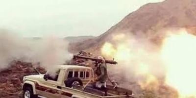 المقاومة الجنوبية تجدد اشتباكاتها مع الميليشيات بجبهة ثرة