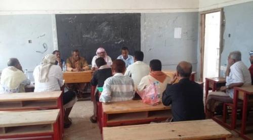 القيادة المحلية لانتقالي حبيل جبر تعقد اجتماعها الشهري وتتخذ عدد من القرارات والتوصيات