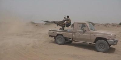 شاهد المليشيات تفر أمام قوات الشرعية بصعدة