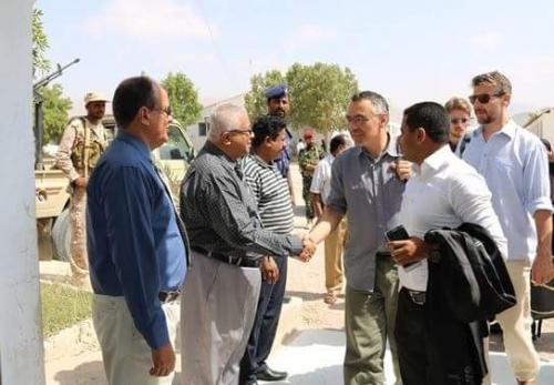 وفد من وسائل أعلام أجنبية يزور جامعة حضرموت