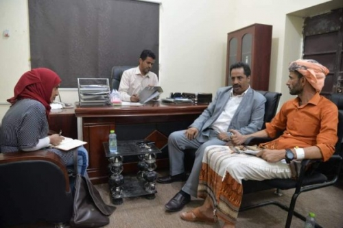 """اللجنة الوطنية للتحقيق تلتقي قيادة الحزام الأمني"""" في عدن"""