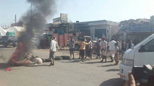 لليوم الثاني.. انتفاضة شعبية في لحج (صور)